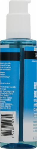Neutrogena® Hydroboost Hyaluronic Acid Hydrating Cleansing Gel Perspective: left