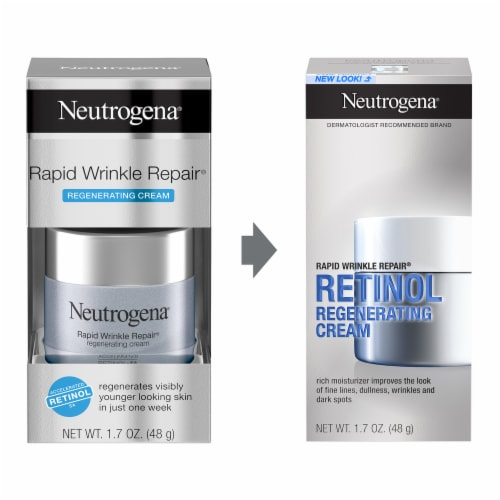 Neutrogena Rapid Wrinkle Repair Regenerating Cream Perspective: left