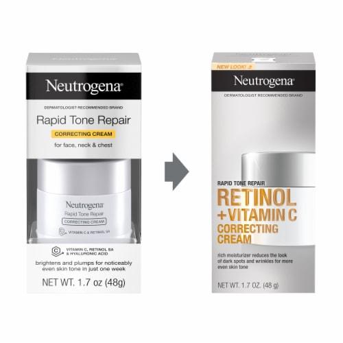 Neutrogena Rapid Tone Repair Correcting Cream Perspective: left