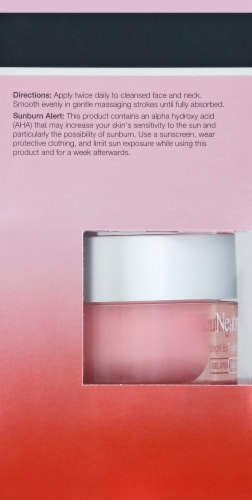 Neutrogena Bright Boost Gel Cream Perspective: left