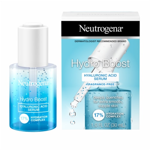 Neutrogena Hydro Boost Hyaluronic Acid Serum Perspective: left