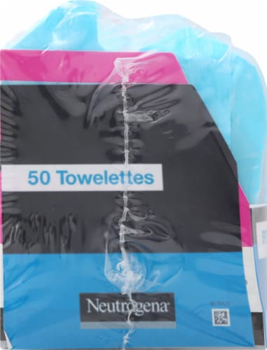 Neutrogena Hydro Boost Cleansing Towelettes Perspective: left