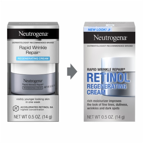 Neutrogena Rapid Wrinkle Repair Regenerating Retinol Cream Perspective: left