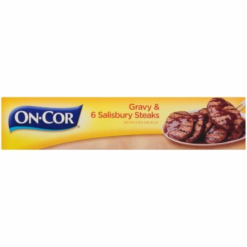 On-Cor Traditionals Gravy & Salisbury Steaks Perspective: left