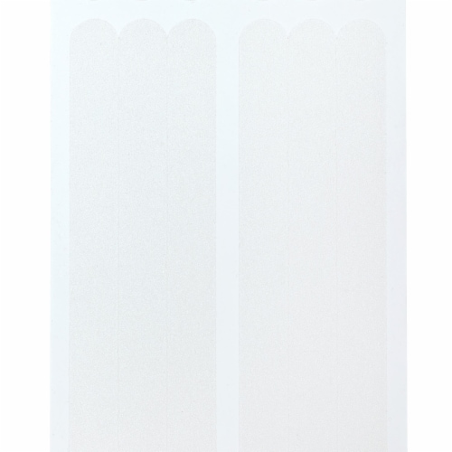 SlipX Solutions Bubble Bath Mat - Clear Perspective: left