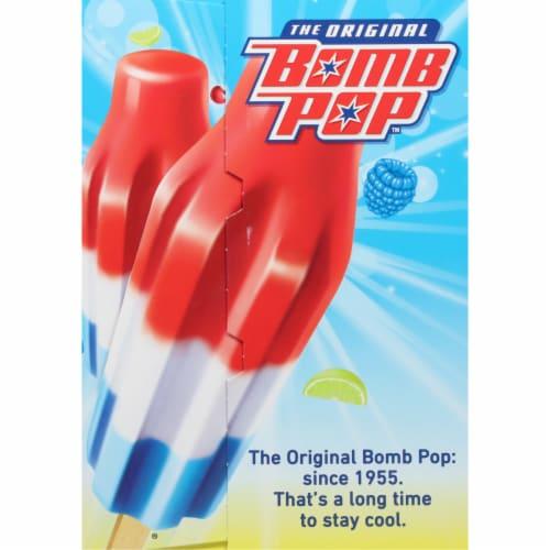 Bomb Pop Original Pops Value Pack Perspective: left