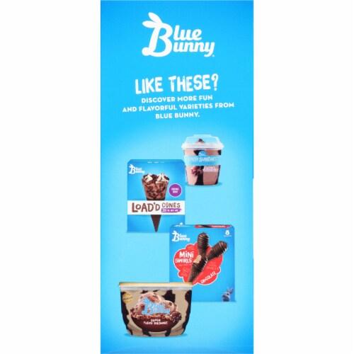 Blue Bunny Load'd Super Fudge Brownie Ice Cream Bar Perspective: left