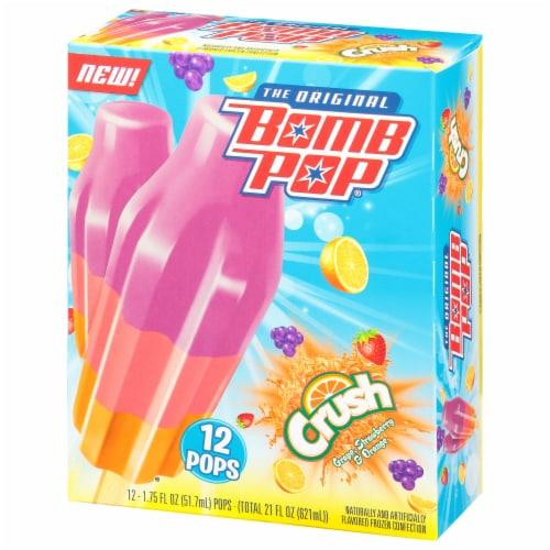 Bomb Pop® Crush Ice Pops Perspective: left