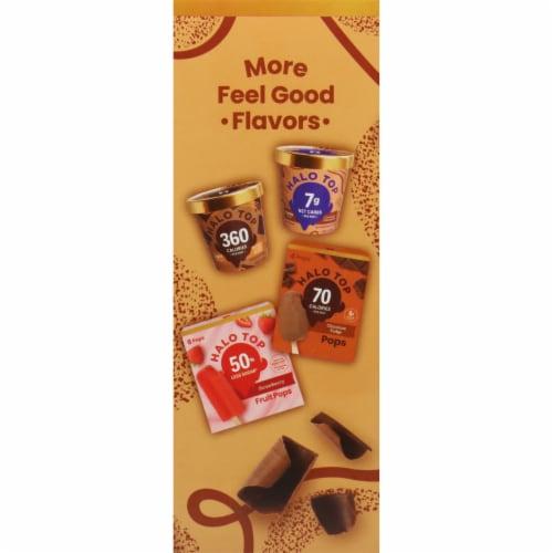 Halo Top Keto Chocolate Cheesecake Ice Cream Pops Perspective: left