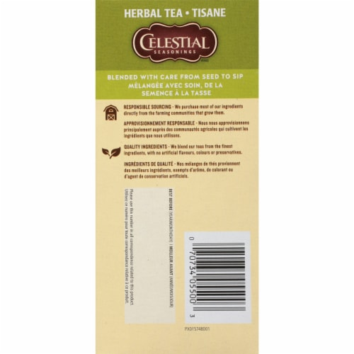 Celestial Seasonings Herbal Fruit Tea Sampler Tea Bags Perspective: left