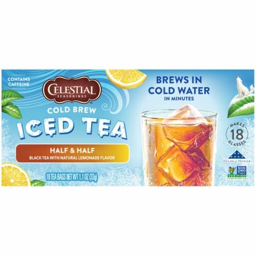 Celestial Seasonings® Half & Half Cold Brew Iced Tea Perspective: left