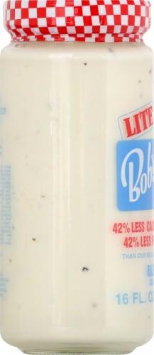 Bob's Famous Lite Bleu Cheese Salad Dressing & Dip Perspective: left