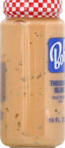 Bob's Big Boy Thousand Island Dressing Perspective: left