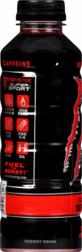 Monster Hydro Super Sport Red Dawg Enhanced Water Perspective: left