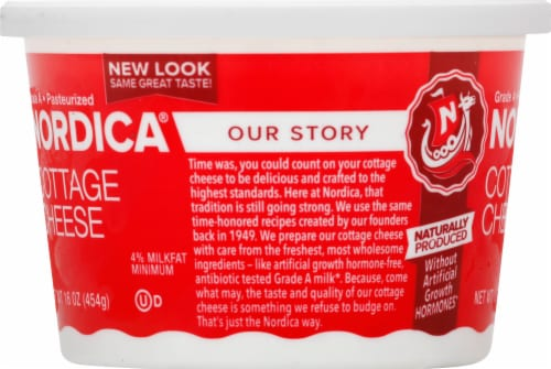 Nordica Cottage Cheese Perspective: left