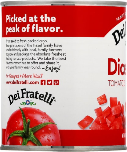 Dei Fratelli Diced Tomatoes Perspective: left
