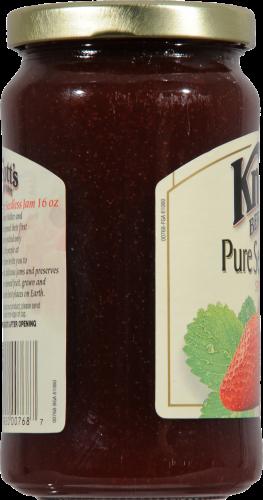 Knott's Berry Farm Pure Seedless Strawberry Jam Perspective: left