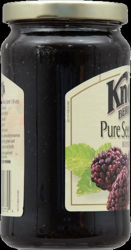 Knott's Berry Farm Pure Seedless Boysenberry Jam Perspective: left