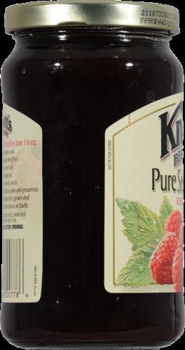 Knott's Berry Farm Pure Seedless Red Raspberry Jam Perspective: left