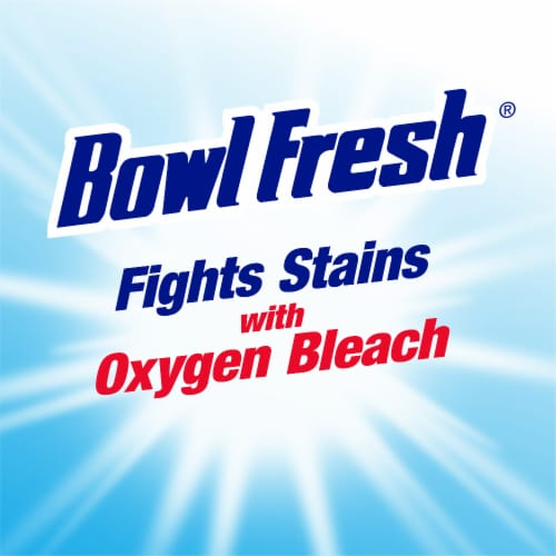 Bowl Fresh Blue Plus Bleach Automatic Bowl Cleaner Tablets Perspective: left