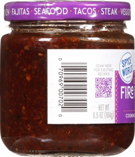 Spice World™ Sizzlin' Fire Roasted Fajita Seasoning Blend Perspective: left