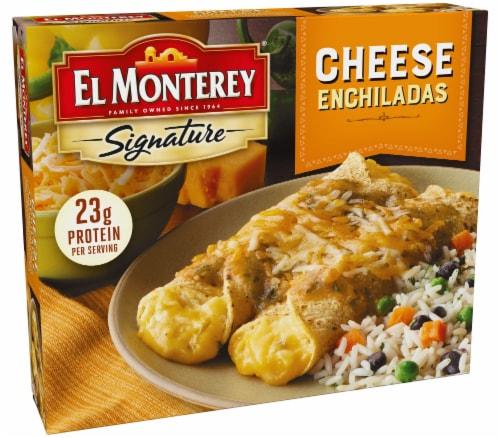 El Monterey Signature Entree Cheese Enchiladas Perspective: left