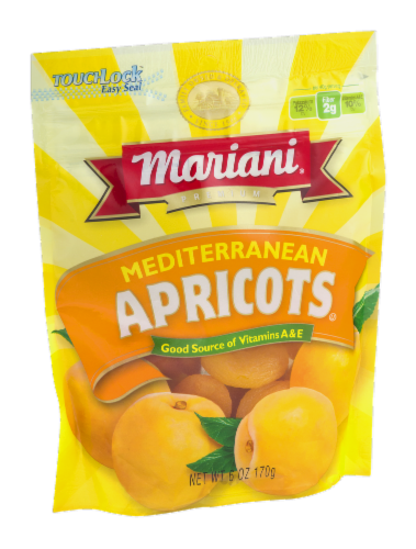 Mariani Premium Mediterranean Dried Apricots Perspective: left