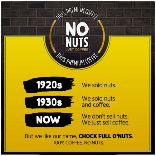 Chock full o'Nuts Midtown Manhattan Medium Roast Single-Serve Pods Perspective: left