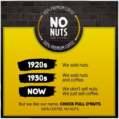 Chock full o'Nuts 100% Colombian Medium Roast Single-Serve Pods Perspective: left