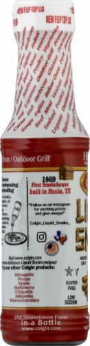 Colgin Liquid Smoke Natural Hickory Flavoring Perspective: left
