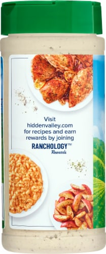 Hidden Valley Gluten Free Original Ranch Seasoning and Salad Mix Perspective: left