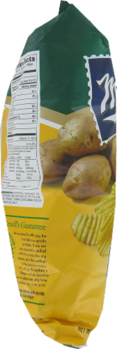Mikesell's Reduced Fat Groovy Potato Chips Perspective: left