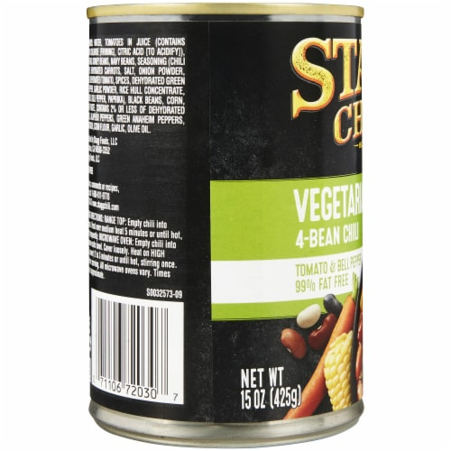 Stagg Chili Vegetarian Garden 4-Bean Chili Perspective: left