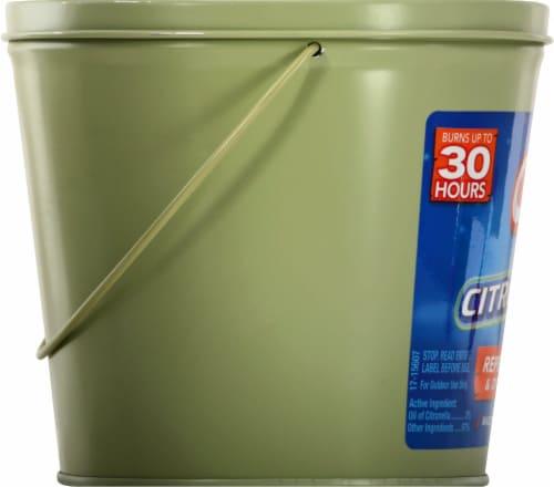 Cutter® Citro Guard Outdoor Citronella Candle Perspective: left