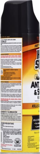 Hot Shot® Ant Roach & Spider Killer Spray Perspective: left