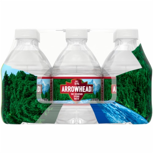 Arrowhead 100% Mountain Spring Water Perspective: left