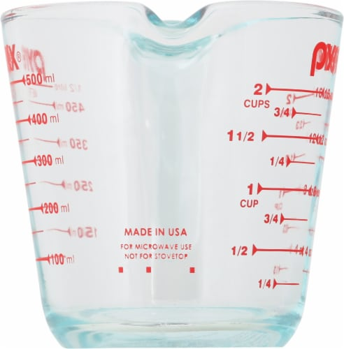 Pyrex Clear Measuring Cup Perspective: left