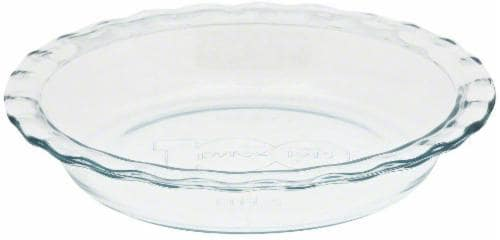 Pyrex Easy Grab Pie Plate - Clear Perspective: left