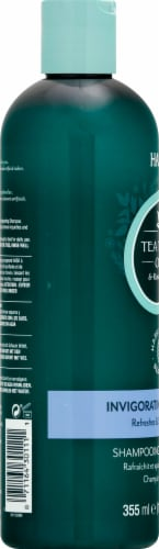 Hask Tea Tree Oil & Rosemary Invigorating Shampoo Perspective: left