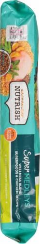 Rachael Ray Nutrish Super Medleys Wellness Blend Superfoods & Chicken Recipe Dry Dog Food Perspective: left