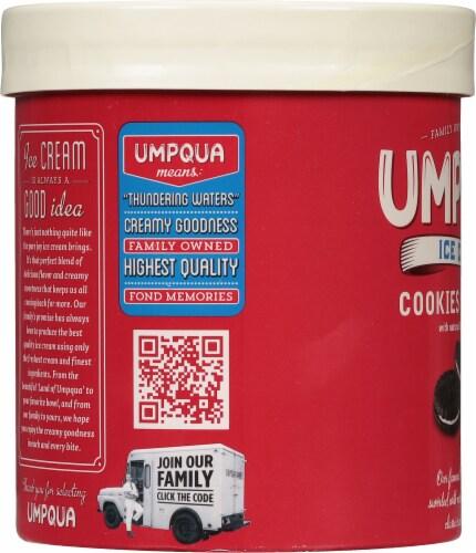 Umpqua Cookies & Cream Ice Cream Perspective: left