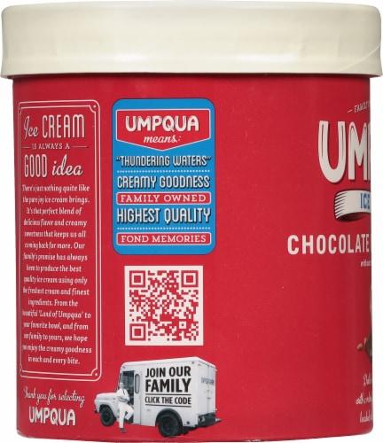 Umpqua Chocolate Peanut Butter Ice Cream Perspective: left