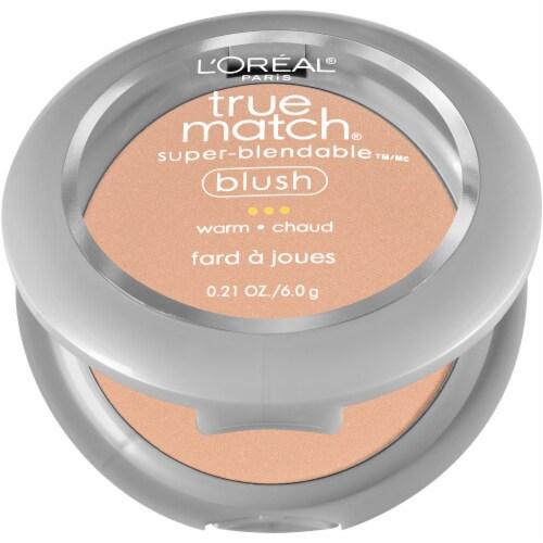 L'Oreal Paris True Match Bare Honey Super-Blendable Blush Perspective: left