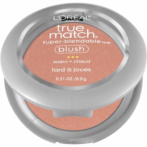 L'Oreal Paris True Match Barely Blushing Super Blendable Blush Perspective: left