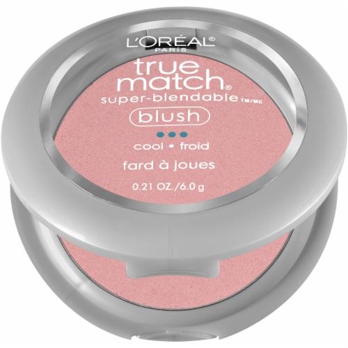 L'Oreal Paris True Match Tender Rose Super-Blendable Blush Perspective: left