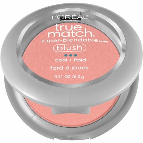 L'Oreal Paris True Match Rosy Outlook Super-Blendable Blush Perspective: left