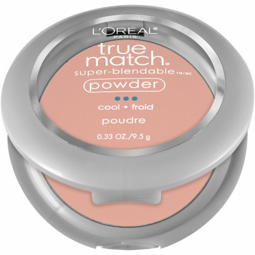 L'Oreal Paris True Match Classic Beige Super-Blendable Powder Perspective: left