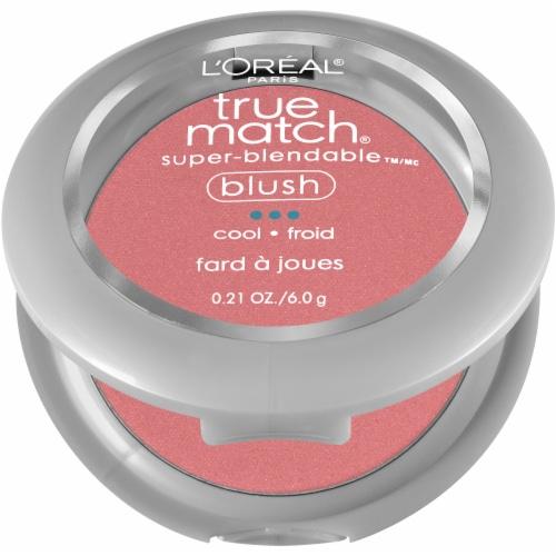 L'Oreal Paris True Match Spiced Plum Super-Blendable Blush Perspective: left