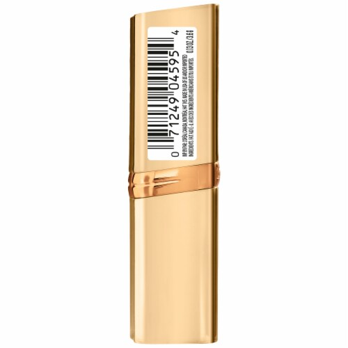 L'Oreal Paris Bronze Coin Colour Riche Lipstick Perspective: left