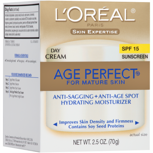 L'Oreal Paris Age Perfect Day Cream SPF 15 Perspective: left